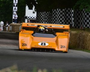 CM14 5717 Andy Newall, McLaren Chevrolet M8F