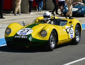 CM14 7989 Christopher Lunn, Lister Jaguar Knobbly
