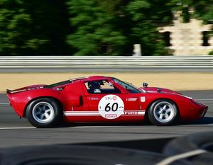 CM14 8145 Phillippe Vandromme, Paul Belmondo, Ford GT40