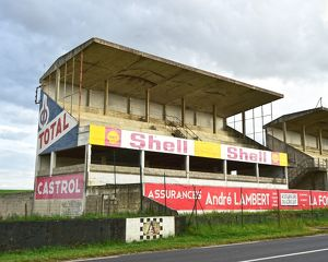 CM14 9764 Pits and Grandstand Reims-Gueux