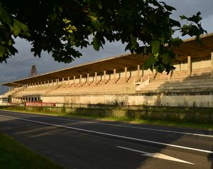 CM14 9828 Pits and Grandstand Reims-Gueux