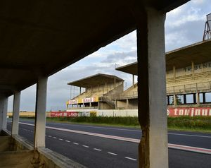CM14 9843 Pits and Grandstand Reims-Gueux