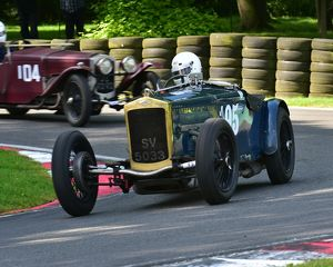 CM15 0200 Charles Gillett, Frazer Nash Super Sports