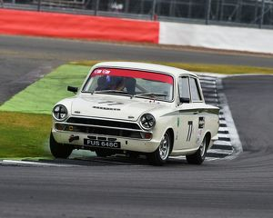 CM15 3592 Christopher Sanders, Chris Ward, Ford Lotus Cortina