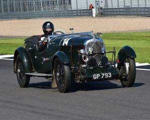 CM15 4837 Tim Wadsworth, Lagonda 2 litre SM Tourer