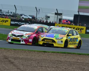 CM16 5693 Jake Hill, Toyota Avensis, Alex Martin, Ford Focus