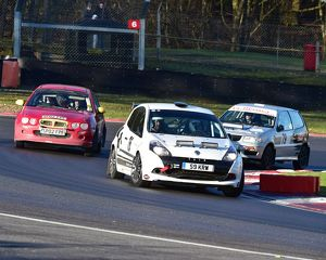 CM17 4317 Martyn Ellis, Clive Letherby, Renault Clio, Sheldon Furby, John Parsons, MG ZR