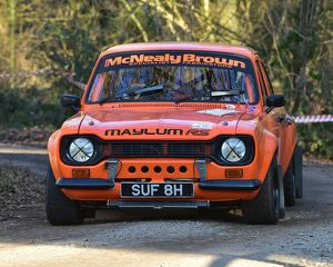 CM17 4631 Roland Brown, Terry Luckings, Ford Escort Mk 1