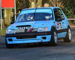 CM17 4793 Ivan Chafer, Terry Dolphin, Peugeot 205