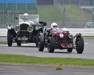 CM17 6746 Richard Iliffe, Riley Elf, Eric Kavanagh, Bentley Tourer