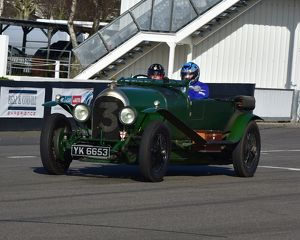 CM17 8472 Philip Strickland, 1925, Bentley VDP Long Chassis 3 Litre Tourer
