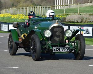 CM17 8862 Philip Strickland, 1925, Bentley VDP Long Chassis 3 Litre Tourer