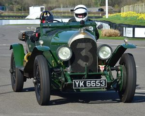 CM17 8872 Philip Strickland, 1925, Bentley VDP Long Chassis 3 Litre Tourer