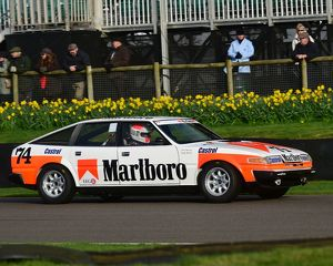 CM18 2374 Andy Bruce, Tim Harvey, Rover 3500 SD1