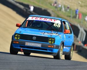 CM18 5725 David Aldridge, VW Golf GTi Mk2