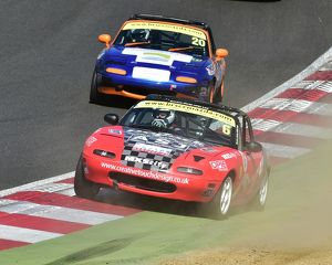 CM18 6061 Jack Warry, Adam Craig, Mazda MX-5s