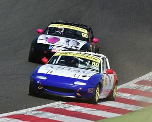 CM18 6063 Anthony Hutchins, Patrick Collins, Mazda MX-5s