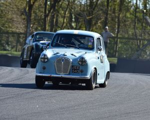 CM18 6520 Chris Pearson, Richard Hudson, Austin A35 Speedwell