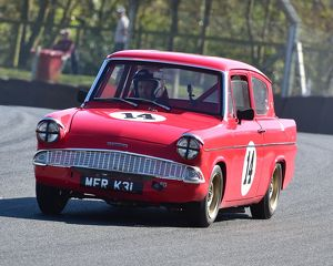 CM18 6522 Tim Cotgrove, Jonathan Pulliston, Ford Anglia Superspeed