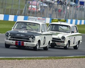 CM19 0243 Martin Strommen, Ford Lotus Cortina, Graham Pattle, Ford Lotus Cortina