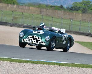 CM2 0705 Mark Midgley, Chris Woodgate, Aston Martin DB3, FHH 534
