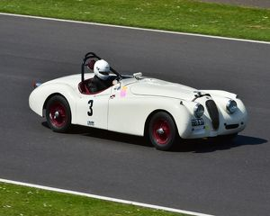 CM2 4054 Christopher Scholey, Nick Finburgh, Jaguar XK 120, TTB 87