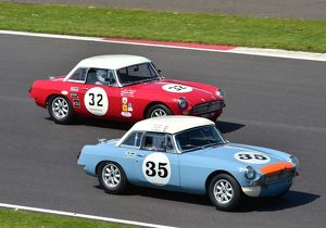 CM2 4057b Nick Sleep, Stuart Lawson, MGB, Beverley Phillips, Olly Phillips, MGB, 366 LOP