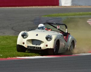 CM2 4600 Richard Owen, Triumph TR2, RYY 277, Historic Road Sports Championship