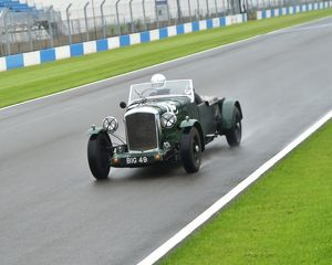 motorsport archive galleries/2014 motorsport archive amoc racing donington park/cm2 8582 vivian bush bentley mkvi special big 49