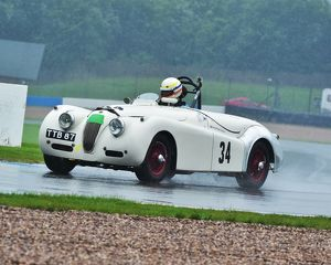 motorsport archive galleries/2014 motorsport archive amoc racing donington park/cm2 8853 christopher scholey jaguar xk120 ttb
