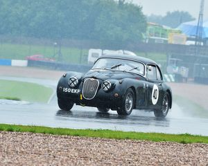 motorsport archive galleries/2014 motorsport archive amoc racing donington park/cm2 8856 claire keith lucas jaguar xk150 150