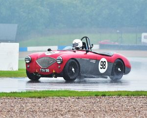 motorsport archive galleries/2014 motorsport archive amoc racing donington park/cm2 8869 nick matthews austin healey 100 4 tyh