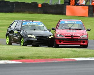 CM20 9325 Mikey Day, Citroen Saxo, Ryan Brimsted, Peugeot 106