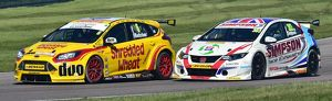 CM21 0096 Rory Butcher, Ford Focus, Matt Simpson, Honda Civic Type R