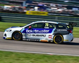 CM21 0110 James Cole, Subaru Levorg