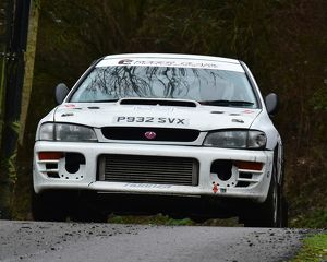 motorsport 2018/mgj winter rally stages brands hatch january/cm22 1577 paul baile loic ditchburn subaru