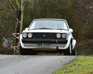 motorsport 2018/mgj winter rally stages brands hatch january/cm22 1585 stuart gilks louise gilks talbot