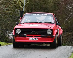 motorsport 2018/mgj winter rally stages brands hatch january/cm22 1590 tim mewett liz jordan ford escort mk2