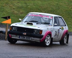 motorsport 2018/mgj winter rally stages brands hatch january/cm22 1623 cathy sewart colin stephens talbot