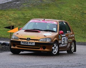 motorsport 2018/mgj winter rally stages brands hatch january/cm22 1761 dylan thomas chloe thomas peugeot