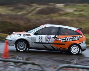 motorsport 2018/mgj winter rally stages brands hatch january/cm22 1804 andy pecover kevin blackford ford