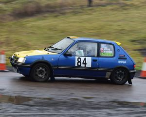 motorsport 2018/mgj winter rally stages brands hatch january/cm22 1867 richard deane neil warwick peugeot