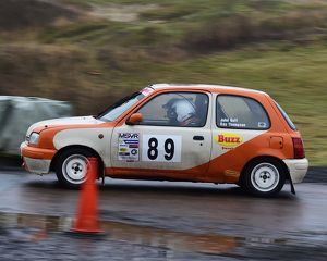 motorsport 2018/mgj winter rally stages brands hatch january/cm22 1889 kay thompson john goff nissan micra