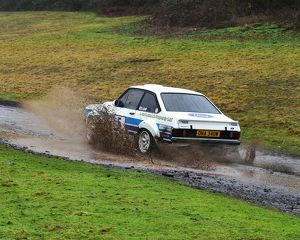 motorsport 2018/mgj winter rally stages brands hatch january/cm22 1924 ian woodhouse jason leaf ford escort