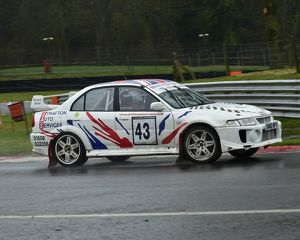 motorsport 2018/mgj winter rally stages brands hatch january/cm22 2029 william moore stuart moore mitsubishi