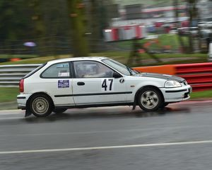 motorsport 2018/mgj winter rally stages brands hatch january/cm22 2032 tony michael paul barrett honda civic