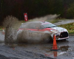 CM22 2304 James Self, Nick Vigors, Citroen DS3 R3T