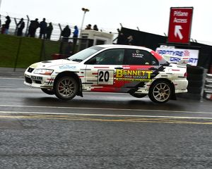 motorsport 2018/mgj winter rally stages brands hatch january/cm22 2442 ben smith steve mcilroy mitsubishi