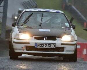 motorsport 2018/mgj winter rally stages brands hatch january/cm22 2669 tony michael paul barrett honda civic