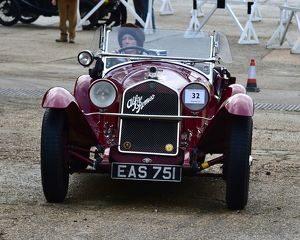 CM22 2834 Miss Alex Pilkington, Alfa Romeo 6C 1750